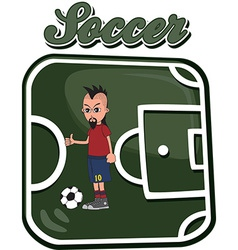 Soccer design elements vector