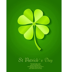 St particks day background vector