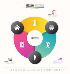 infographics design template vector image