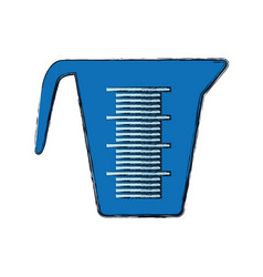 measuring cup bakeware vector image