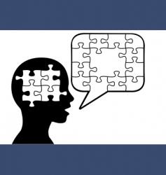 problem-solving vector image vector image