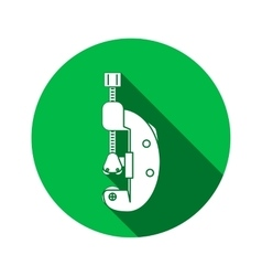 Tool icon Cutter clamp Repair fix building vector image