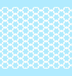 seamless pattern with cute arabian styled blue vector image vector image