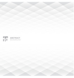 Abstract squares pattern geometric white and gray vector