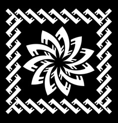 ancient celtic scandinavian design celtic knot vector image
