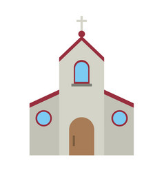 catholic church symbol vector image