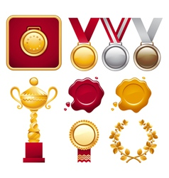 Collection of Awards vector image
