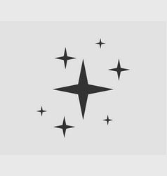 galaxy stars icon design element vector image