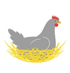 Hen Nest vector