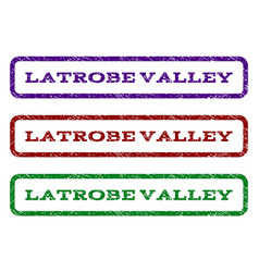 Latrobe valley watermark stamp vector