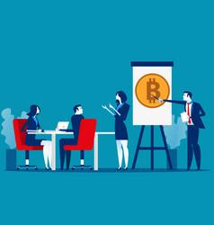 professional training business presentation vector image