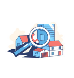 Real estate search vector