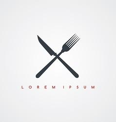 Restaurant theme icon sign logotype vector