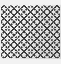 Seamless chain mail design vector