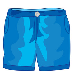 Year trousers shorts vector