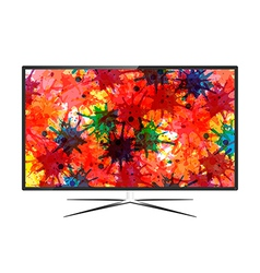 LED Television vector image