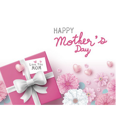mothers day concept design vector image vector image