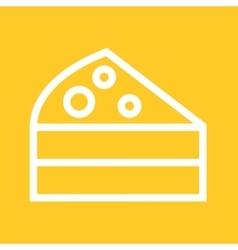 Cake Slice vector image vector image