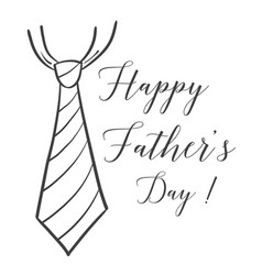 Happy fathers day celebration event vector