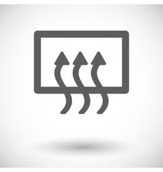 Rear window defrost vector image
