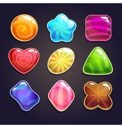 Candies set vector image