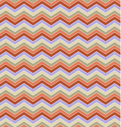 Abstract seamless zig zag line pattern design vector image