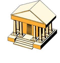 bank isometry vector image