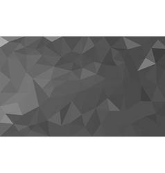 Grey polygon background vector