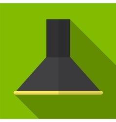 Kitchen hood flat icon vector image