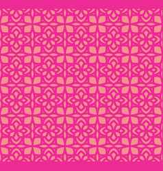 Pattern background thai flower vector