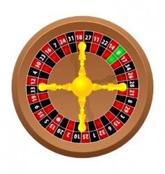 roulette casino vector image