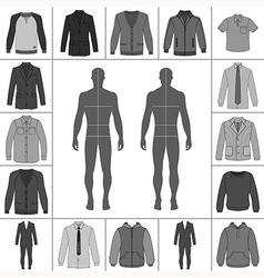 Street fashion clothing 21 vector
