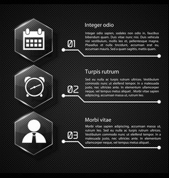 Web infographic concept vector
