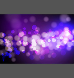 abstract circle blurred bokeh lights and glitter vector image