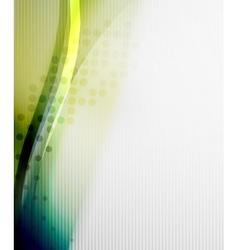 Blue business tech blur design vector image