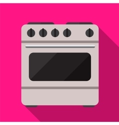 Cooker flat icon vector