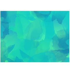 green ink wash background vector image