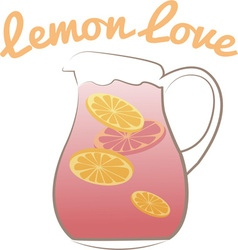 Lemon love vector