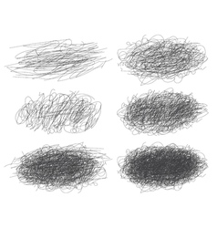 Lines of hand drawn textures scribbles for your vector