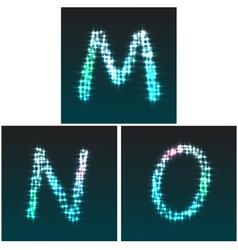 M N O vector