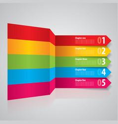 modern stripes business poster vector image vector image