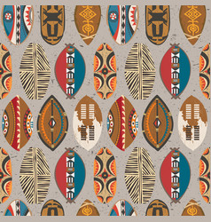african-pattern-09 vector image