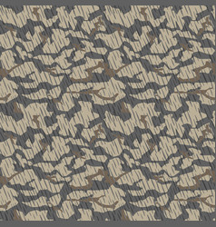 Camouflage pattern seamless military background vector