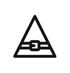 elf hat icon vector image