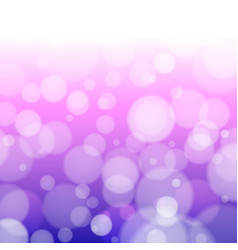 purple background with defocused lights vector image