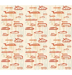 Seamless pattern of traffic Means of vector