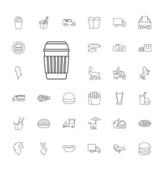 33 fast icons vector