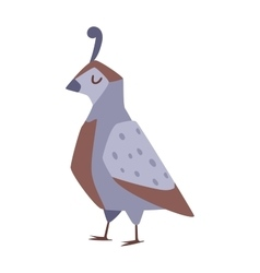 Dove icon cartoon style bird vector image