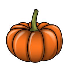 halloween pumpkin symbol icon design vector image