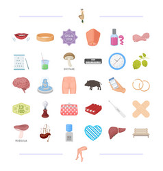 Recreation shopping salon and other web icon vector